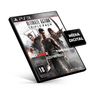 Ultimate Action Triple Pack - PS3 Mídia Digital