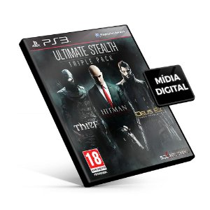 Ultimate Stealth Triple Pack - PS3 Mídia Digital