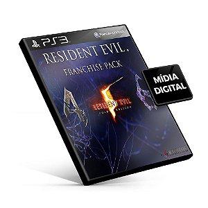Resident Evil Franchise Pack - PS3 Mídia Digital