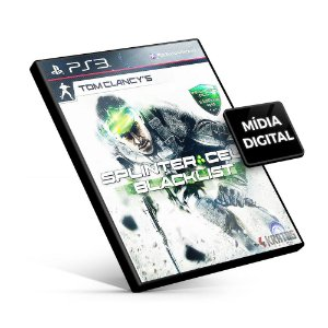 Tom Clancy's Splinter Cell® Blacklist™ Ultimate Edition - PS3 Mídia Digital