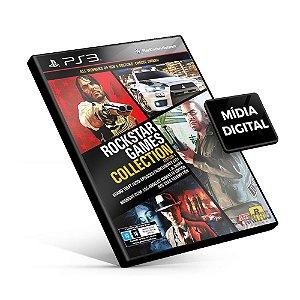 Rockstar Games Collection Edition 1 - PS3 Mídia Digital