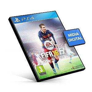 Fifa 16 - PS4 Mídia Digital