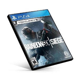 Tom Clancy's Rainbow Six Siege - PS4 Mídia Digital