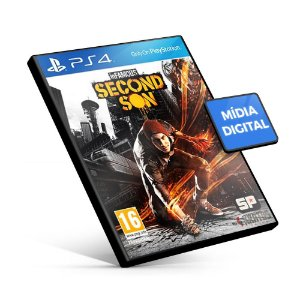 Infamous Second Son - PS4 Mídia Digital