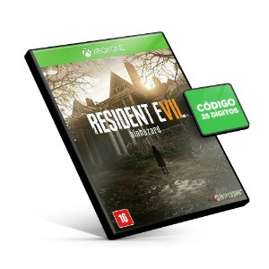 Resident Evil 7 Biohazard - Xbox One - Código 25 Dígitos