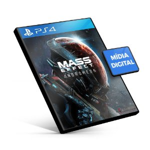 Mass Effect: Andromeda - PS4 Mídia Digital