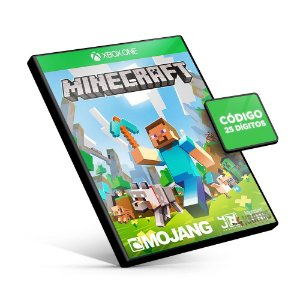 Minecraft - Xbox One - Código 25 Dígitos