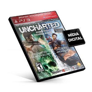 Uncharted Greatest Hits Dual Pack - PS3 Mídia Digital