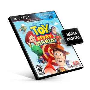 Toy Story Mania - PS3 Mídia Digital
