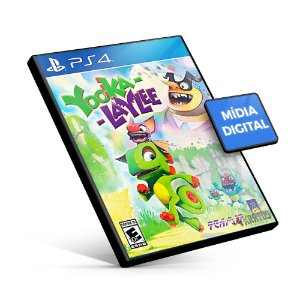 Yooka-Laylee - PS4 Mídia Digital