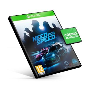 Need for Speed - Xbox One - Código 25 Dígitos