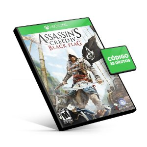 Assassin's Creed IV Black Flag - Xbox One - Código 25 Dígitos