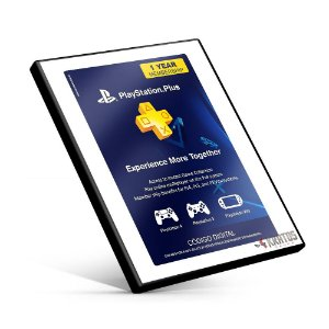 Cartão Playstation Plus 12 Meses Americana