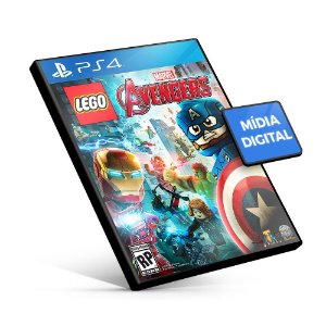 Lego Marvel's Avengers - PS4 Mídia Digital