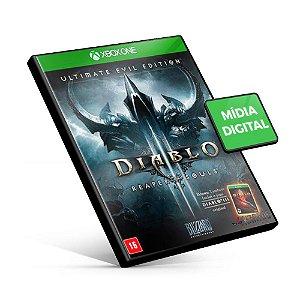 Diablo 3 Reaper of Souls Ultimate Evil Edition - Xbox One - Código 25 Dígitos
