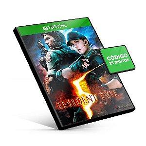 Resident Evil 5 - Xbox One - Código 25 Dígitos