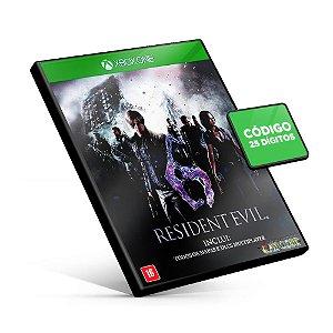 Resident Evil 6 - Xbox One - Código 25 Dígitos