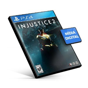 Injustice 2 - PS4 Mídia Digital