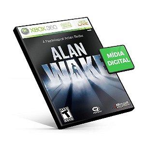 Alan Wake - Xbox 360 - Código 25 Dígitos