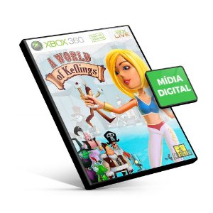 A World of Keflings - Xbox 360 - Código 25 Dígitos