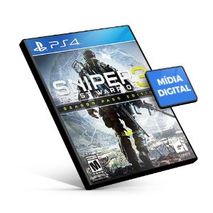 Sniper Ghost Warrior 3 Season Pass Edition - PS4 Mídia Digital