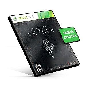 The Elder Scrolls V: Skyrim - Xbox 360 - Código de 25 Dígitos