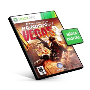 Tom Clancy's Rainbow Six Vegas 2 - Xbox 360 - Código 25 Dígitos