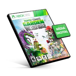 Plants vs Zombies Garden Warfare - Xbox 360 - Código 25 Dígitos Americano