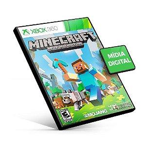 Minecraft - Xbox 360 - Código 25 Dígitos