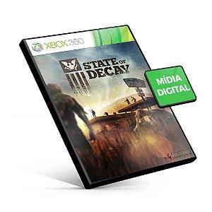 State of Decay - Xbox 360 - Código 25 Dígitos Americano