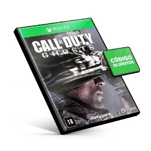 Call of Duty Ghosts - Xbox One - Código 25 Dígitos