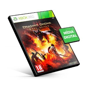 Dragon's Dogma: Dark Arisen - Xbox 360 - Código 25 Dígitos