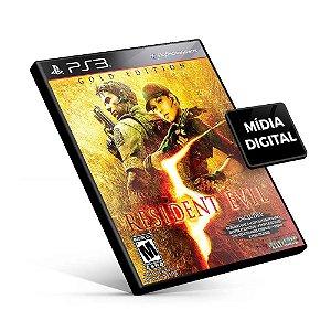Resident Evil® 5 Gold Edition - PS3 Mídia Digital
