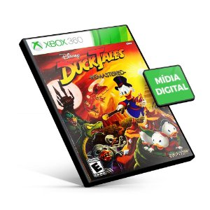 DuckTales: Remastered - Xbox 360 - Código 25 Dígitos