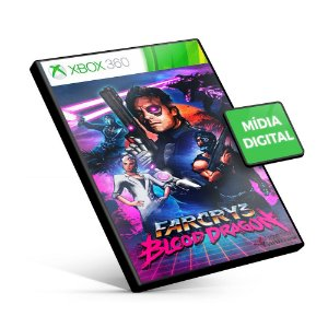 Far Cry 3 Blood Dragon - Xbox 360 - Código 25 Dígitos