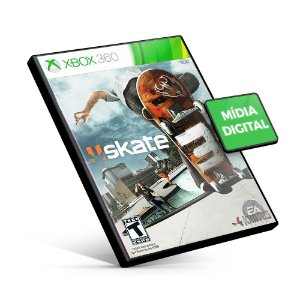 Skate 3 - Xbox 360 - Código 25 Dígitos Americano