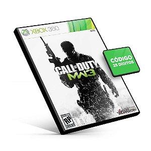 Call of Duty: Modern Warfare 3 - Xbox 360 - Código 25 Dígitos