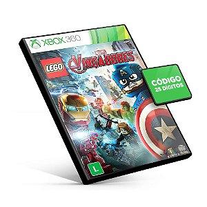 LEGO Marvel's Vingadores - Xbox 360 - Código 25 Dígitos