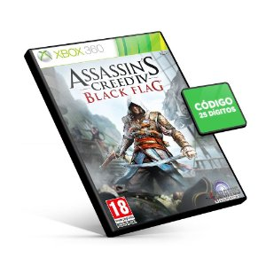 Assassin's Creed® IV - Xbox 360 - Código 25 Dígitos
