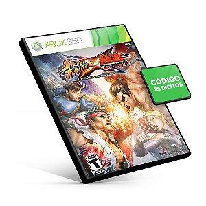 STREET FIGHTER X TEKKEN - Xbox 360 - Código 25 Dígitos