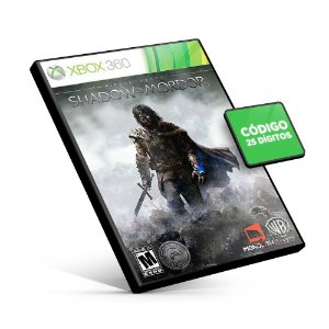Middle-earth: Shadow of Mordor - Xbox 360 - Código 25 Dígitos Americano