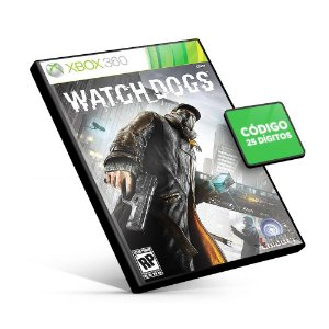 Watch Dogs - Xbox 360 - Código 25 Dígitos