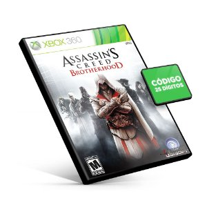 Assassin's Creed Brotherhood - Xbox 360 - Código 25 Dígitos