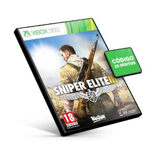 Sniper Elite 3 - Xbox 360 - Código 25 Dígitos