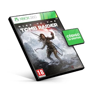 Rise of the Tomb Raider - Xbox 360 - Código 25 Dígitos