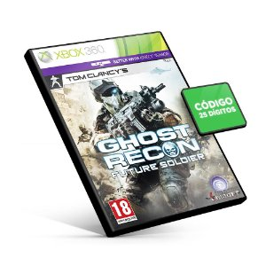 Ghost Recon: Future Soldier - Código 25 Dígitos