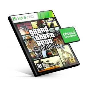 Grand Theft Auto: San Andreas - Código 25 Dígitos