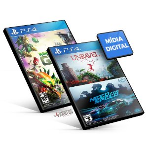 Pacote Familiar EA - PS4 Mídia Digital