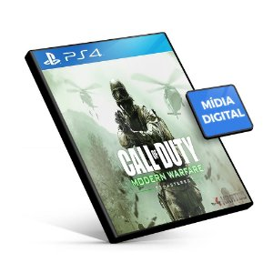 Call of Duty: Modern Warfare Remastered - PS4 Mídia Digital