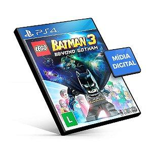 Lego Batman 3: Além De Gotham - PS4 Mídia Digital